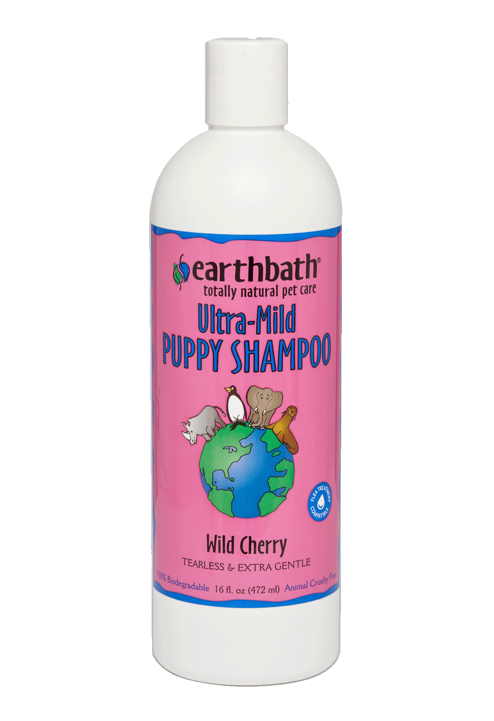 image of ultra mild puppy shampoo